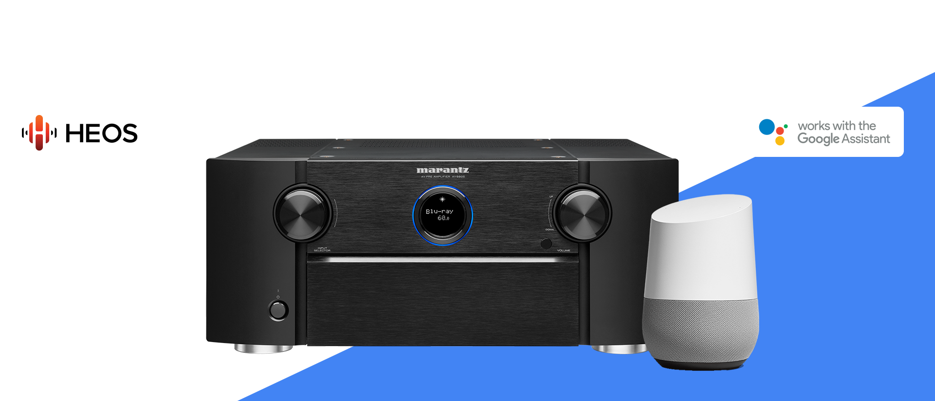 Marantz Works with the Google Assistant