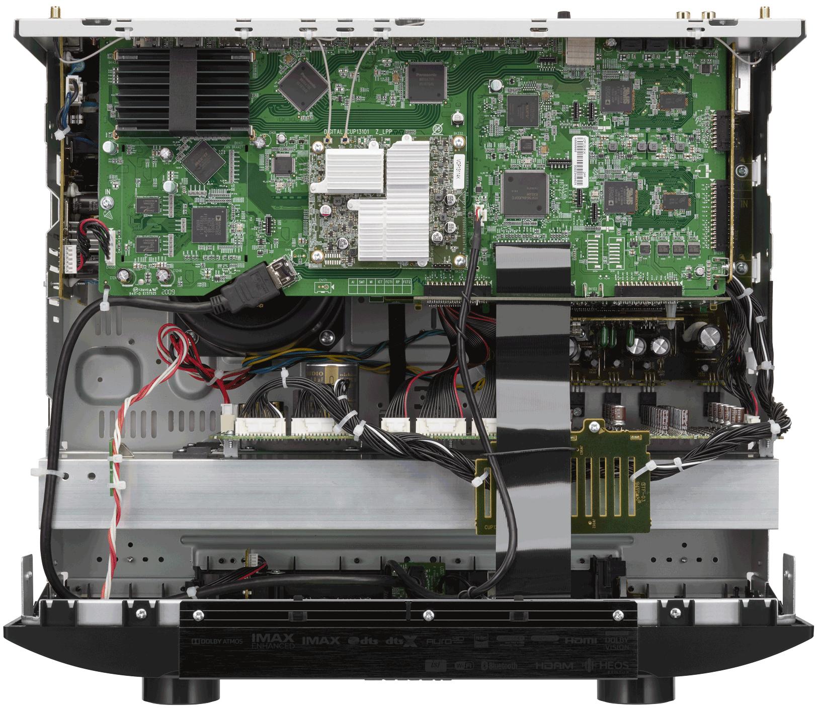 Marantz AV7706 11.2Ch 8K Ultra HD Atmos Network AV Preamplifier Marantz_AV7706_Full-Internal-Image-1626w