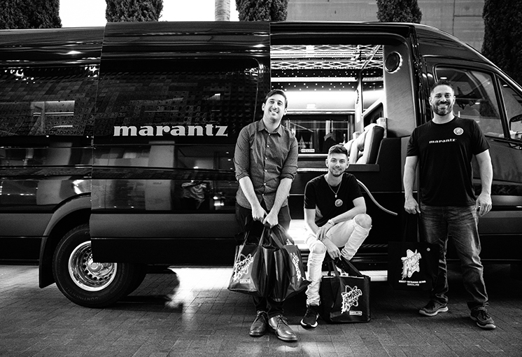 A Day in Hollywood with Marantz